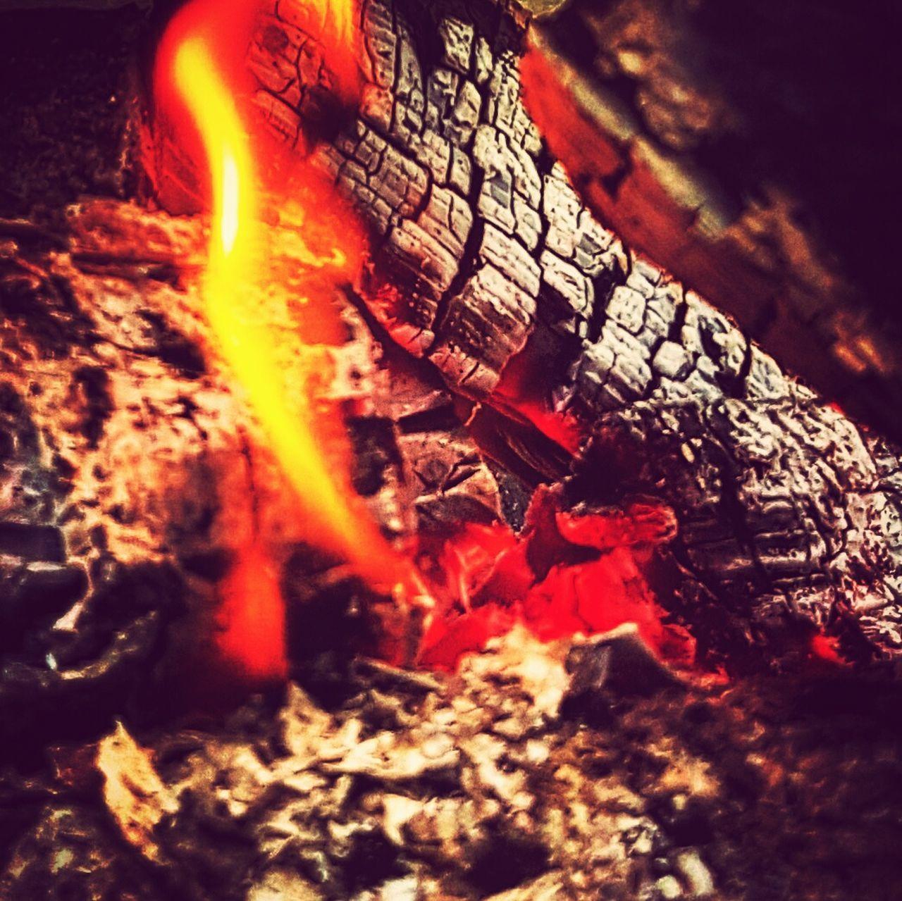 Relaxing fire