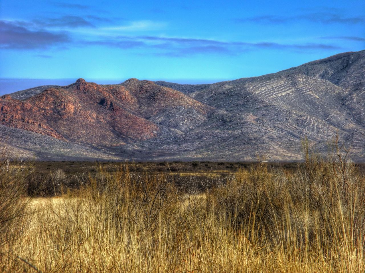 HDR Mountains Desert Beauty Contrasts Of Beauty