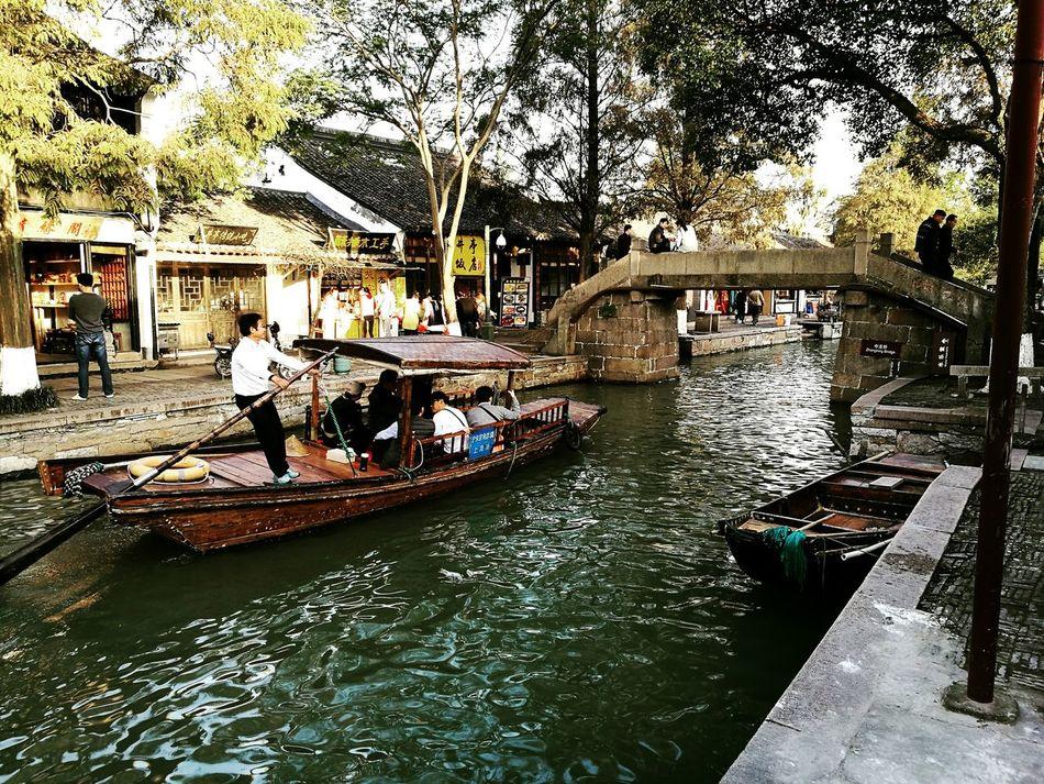Zhujiajiao gondol China Shanghai First Eyeem Photo China Watertown Zhujiajiao Gondol Motion