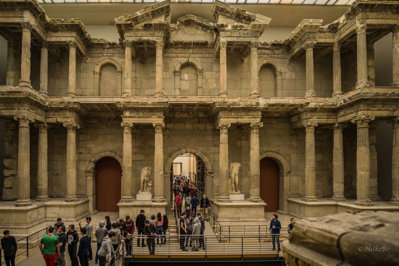 Markttor von Milet ,Pergamon Museum Heikobo Berlin Museumsinsel Museumsinsel Berlin Pergamonmuseum Pergamon Museum Markttorvonmilet
