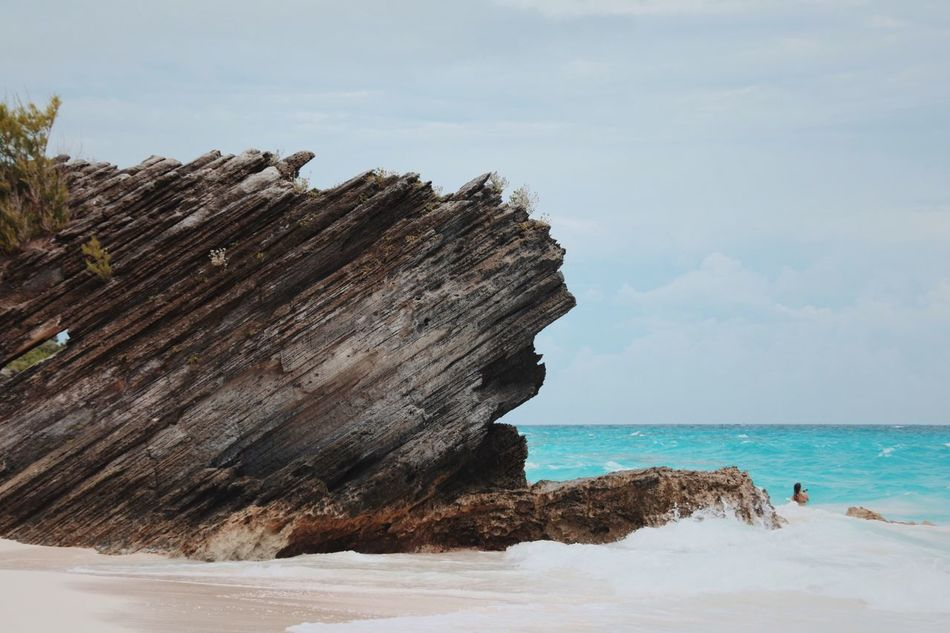 Miles Away Sea Sky Nature Horizon Over Water Scenics Beauty In Nature Tranquil Scene Tranquility Water Beach No People Outdoors Day Cloud - Sky Bermuda Hamilton Island Tropical Climate Open Edit Blue Blue Wave Ocean Rock Rocks And Water