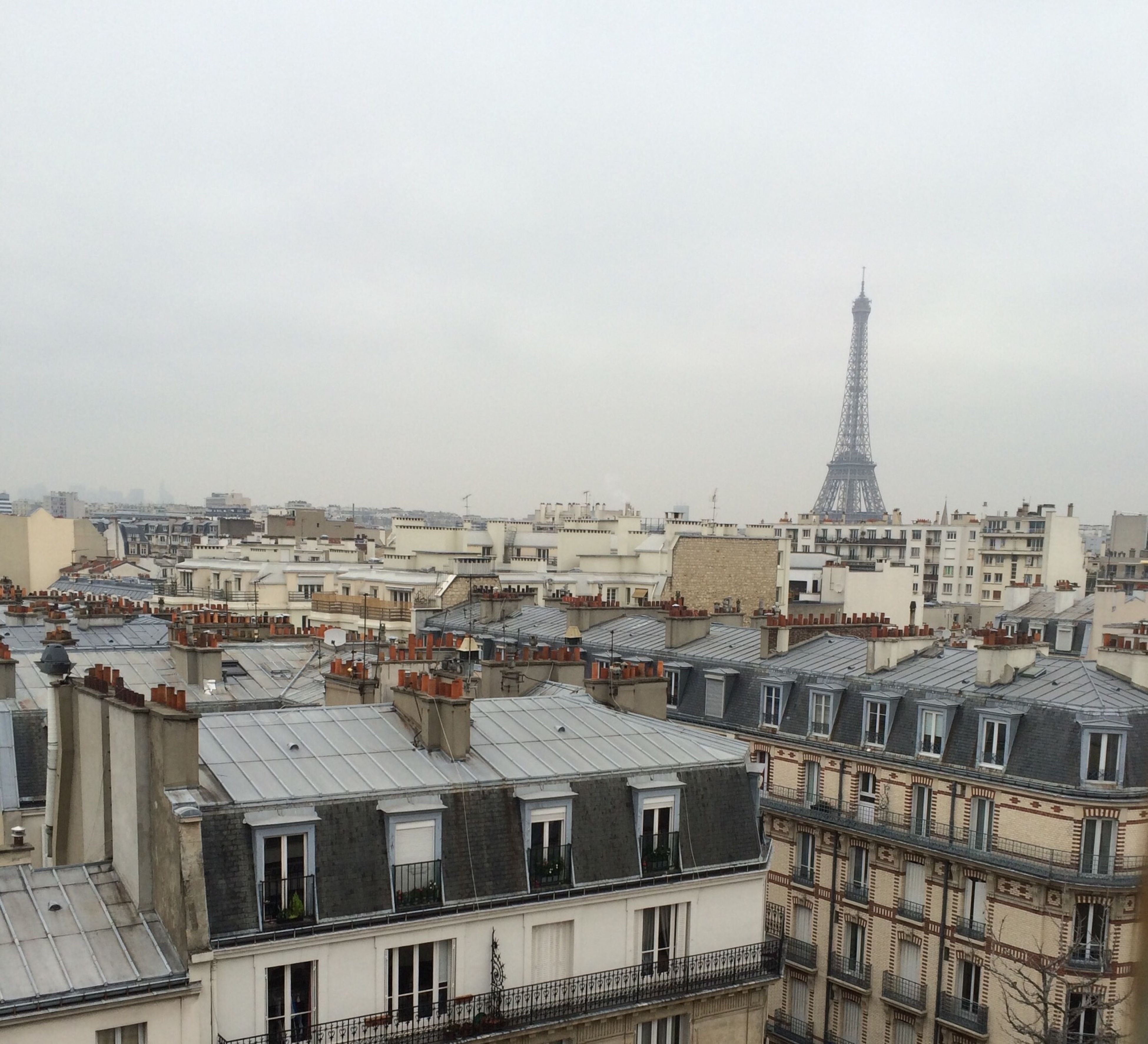 Roof Paris Hanging Out