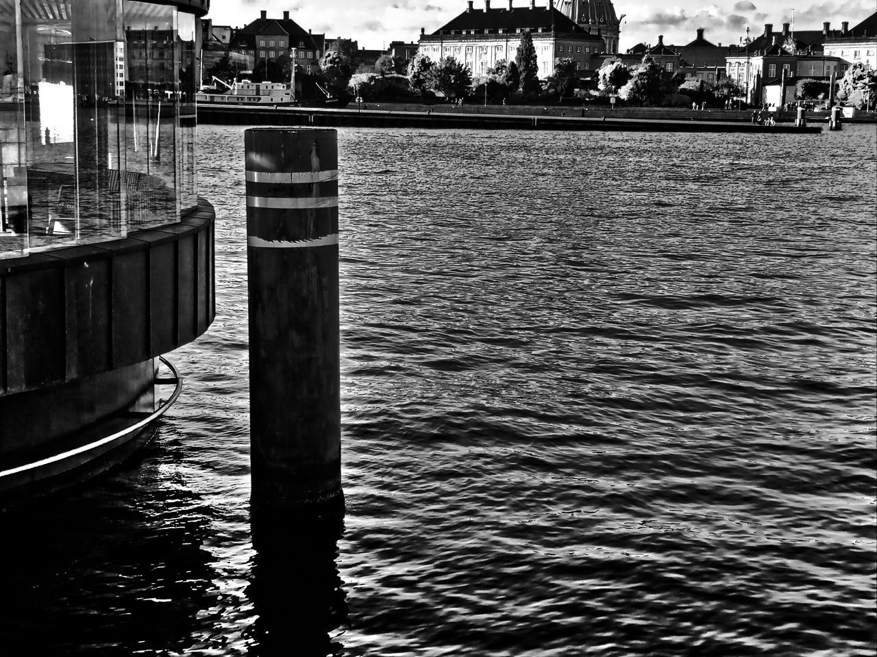 prot view Anchorage Architecture Black & White Black And White Blackandwhite Building Exterior Built Structure Channel City View  Day Harbour View Horizontal Lake Nature Nautical Vessel No People Outdoors Port View Portview Rippled River Sky Water Waterfront