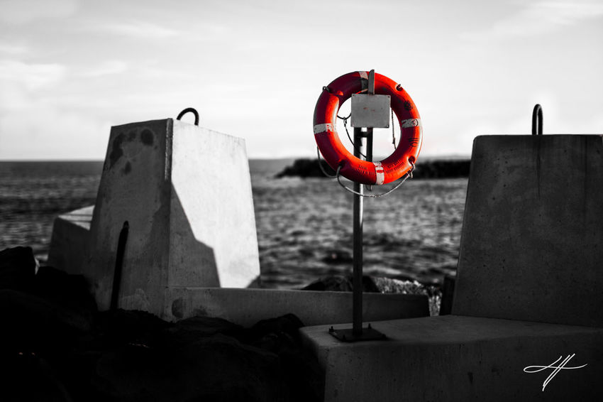R I N G POP Check This Out Colors Taking Photos Canon EyeEm Best Shots EyeEm Gallery Sunset Landscapes Surf Ocean Black&white Saving Lives Boating Lifering Waterscape Beach Life Beach Photography Scenic Fine Art Photography