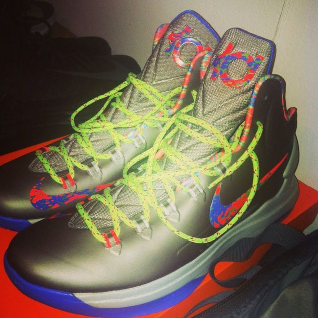 Game Shoes For Tonight ? #KD5