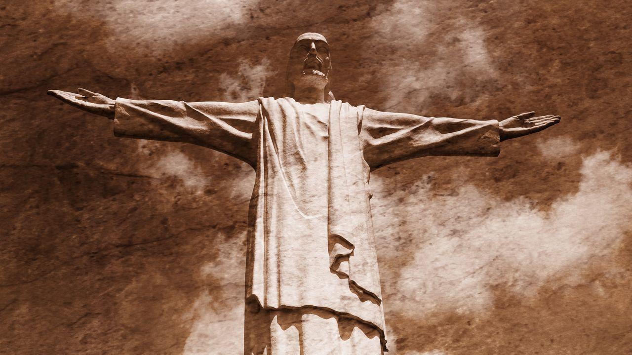 Statue of Jesus Christ (christo rey) Christ Christian Christianity Cross Crucifix Day Jesus Jesus Christ Jesus Is My Savior Jesus Loves You Jesuschrist No People Religion Spirituality
