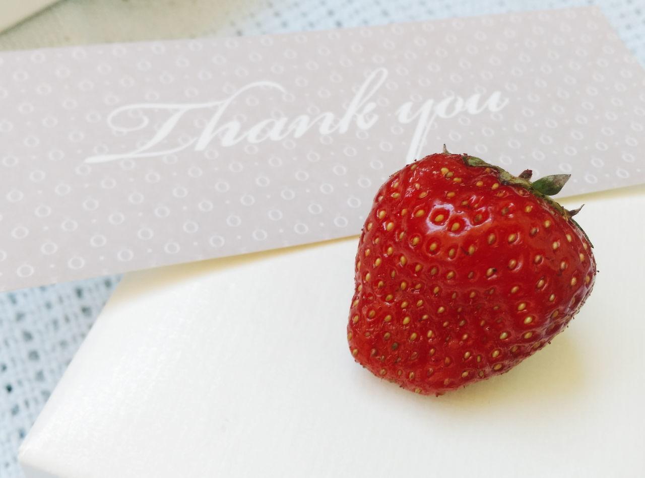 Things I Like Food Freshness Strawberry Organic Red via Fotofall