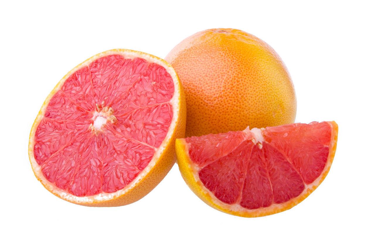 Citrus Fruit Close-up Food Food And Drink Freshness Fruit Grapefruit Healthy Eating No People Orange - Fruit SLICE Studio Shot White Background