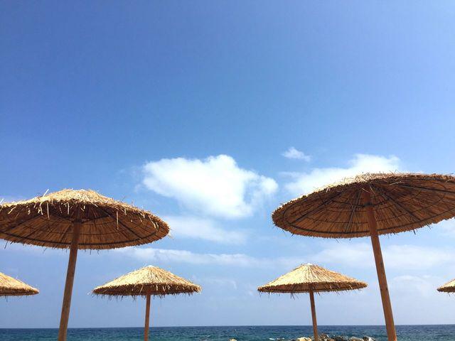 guarda-chuva vezes Proteção solar Férias Ocean Beach - EyeEm - 웹