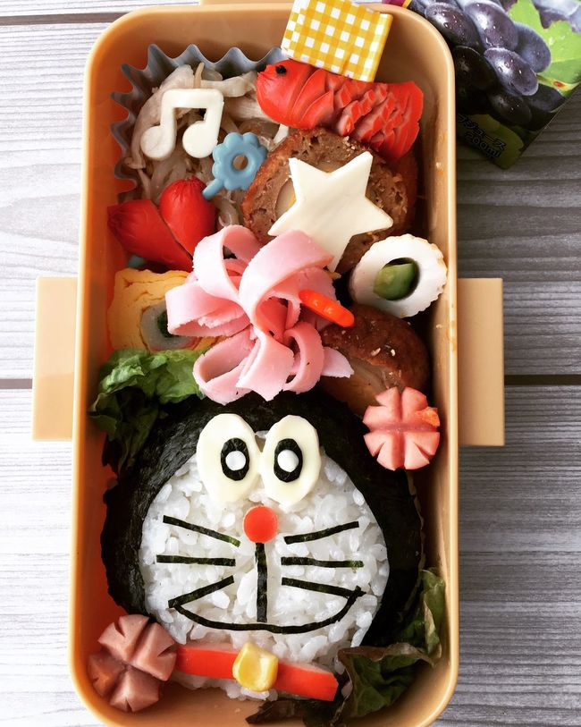 Hi! Dericious Lunch Box べんとー おべんとう Happy Kyaraben Lunch Lunch Time!