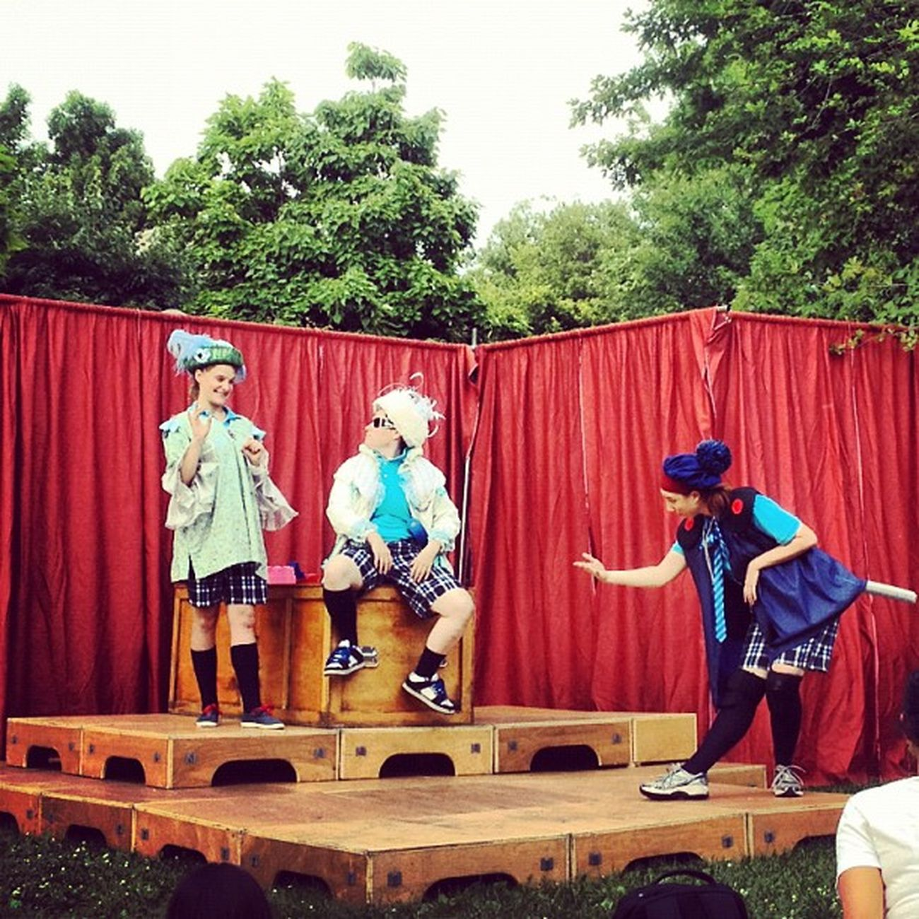 A very silly production of Henry V by Company of Fools