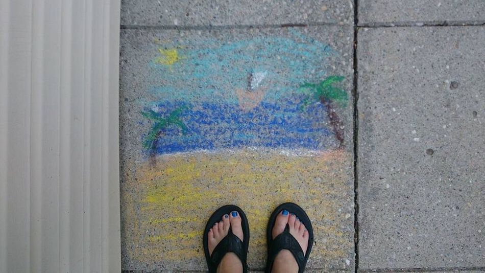 Beachphotography Beach Life Myrtle Beach SC Chalk Pastels. Flip Flops BluenailpolishEssentialtremorsawareness When Boredom Strikes. LongIslandNY Silly #funny #loveable #me