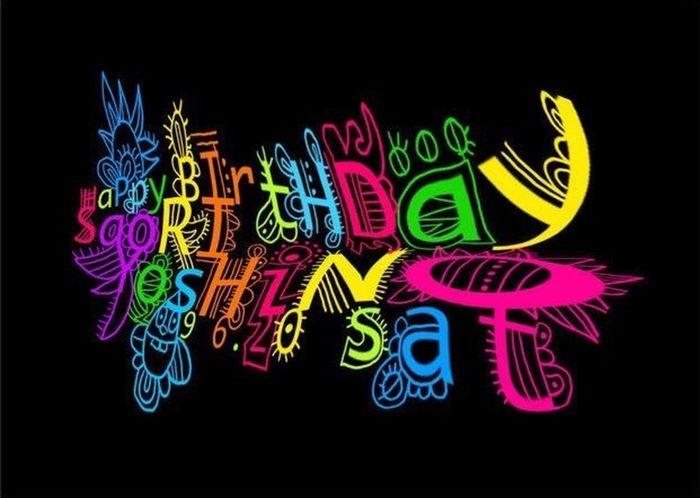 Birthdaycard Birthday Happy Birthday! CHINOmrk Illustration Illust Photoshop Art Design Illustrator バースデーカード( ᐛ?)