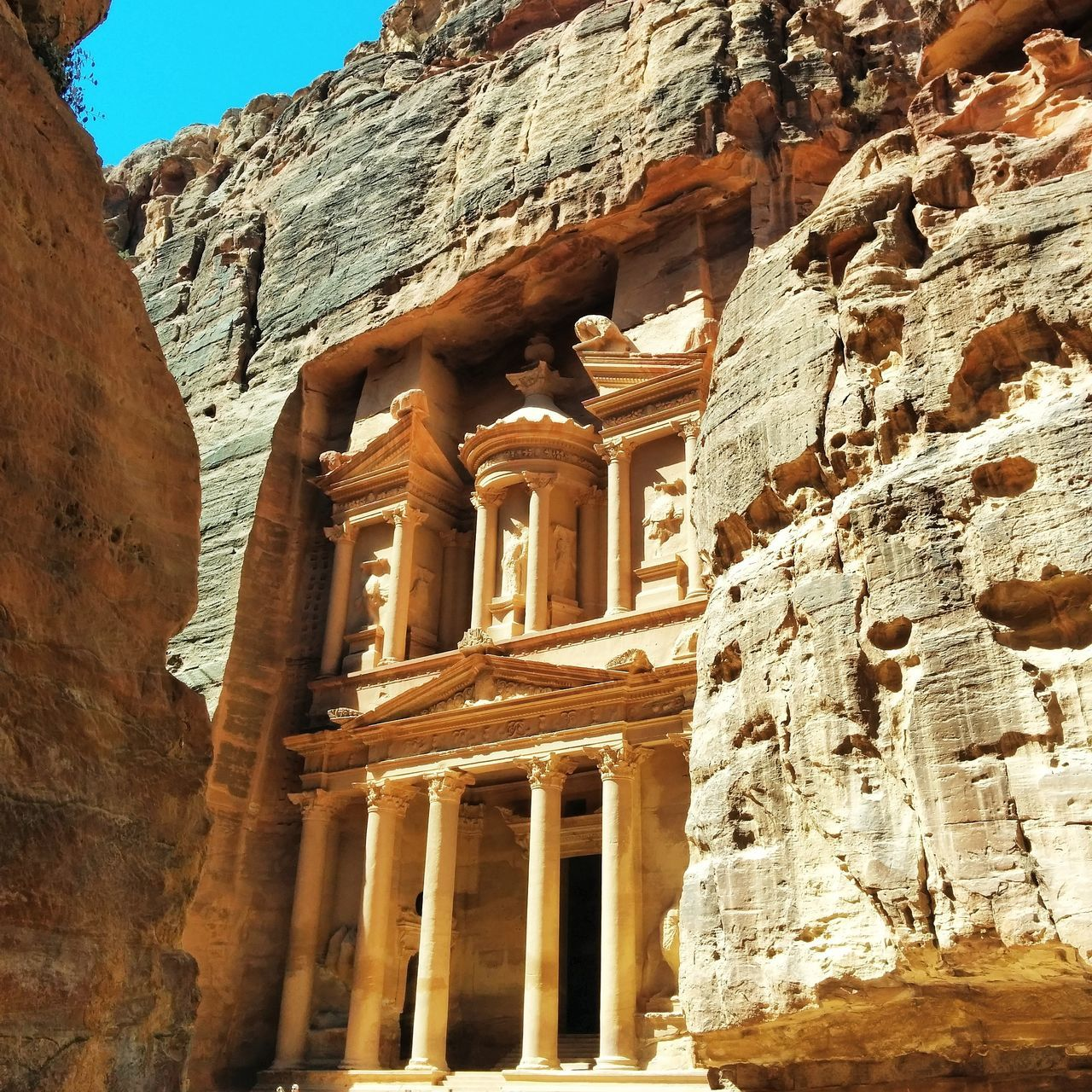 The Indiana Jones thing. Done. Monument Indiana Jones Petra Jordan