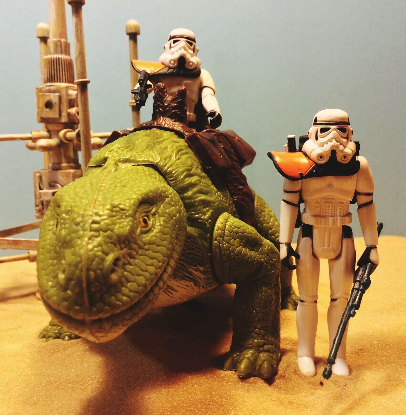 Vintage Kenner custom Sand troopers A New Hope Episode IV Action Figures Starwars Star Wars Star Wars Custom Sandtrooper Kenner Toyphotography