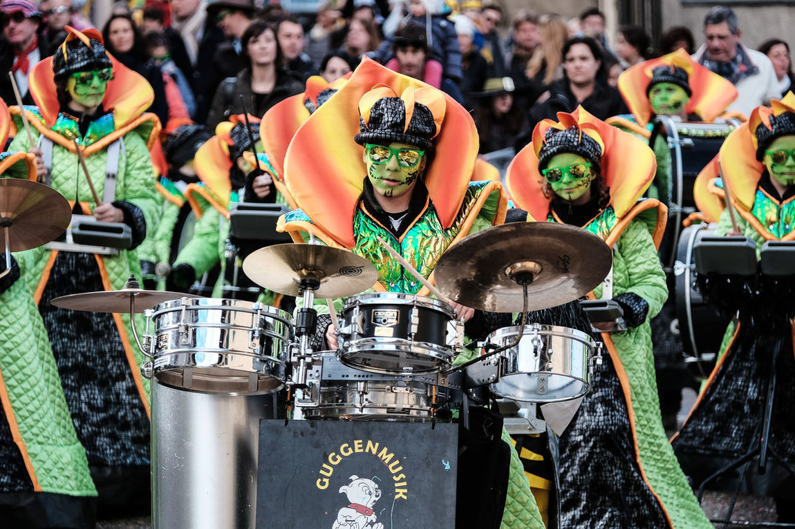 Carnaval Real People Streetphotography Guggenmusik Genolier P'tiit Bulh Monthey