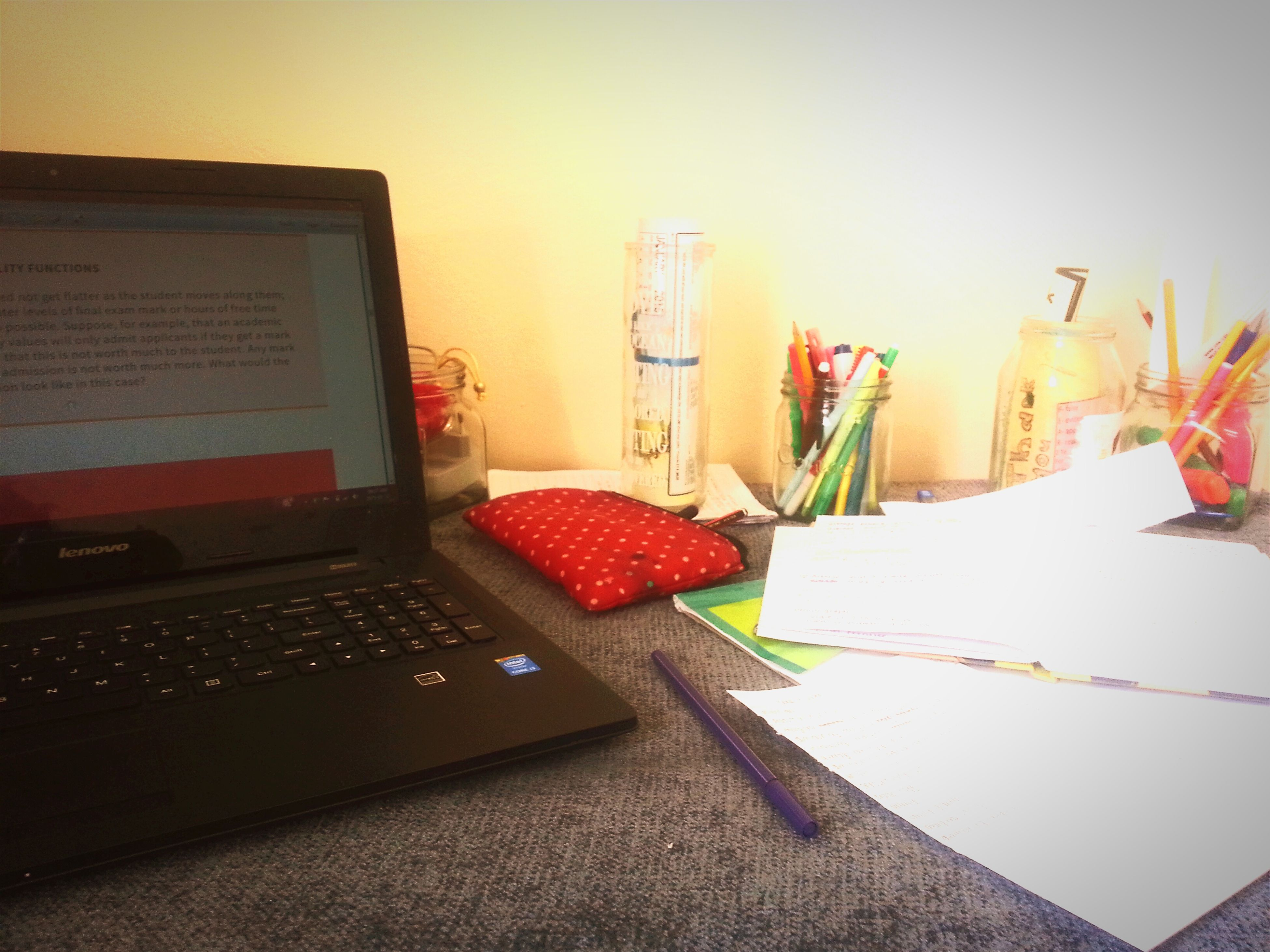 When your desk becomes your new bed! Cramming For Exams Studentlife  Anyboday Want To Skype?