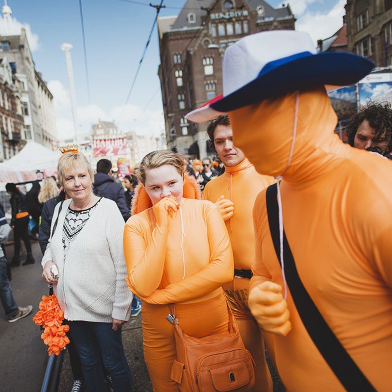 27th of April 2015. King's Day in Amsterdam, The Netherlands. Koningsdag Koningsdag2015 Amsterdam Netherlands