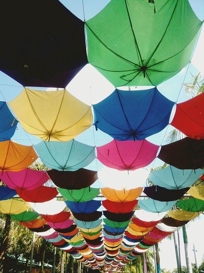 Under my umbrellas..ellas..ellas..eh..ehh! Poracay Relaxing First Eyeem Photo