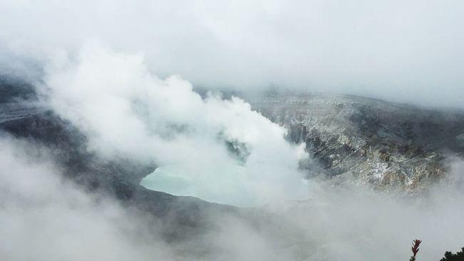 Poas Volcano. Costa Rica, August 2015 Magnificent World Feel Alive
