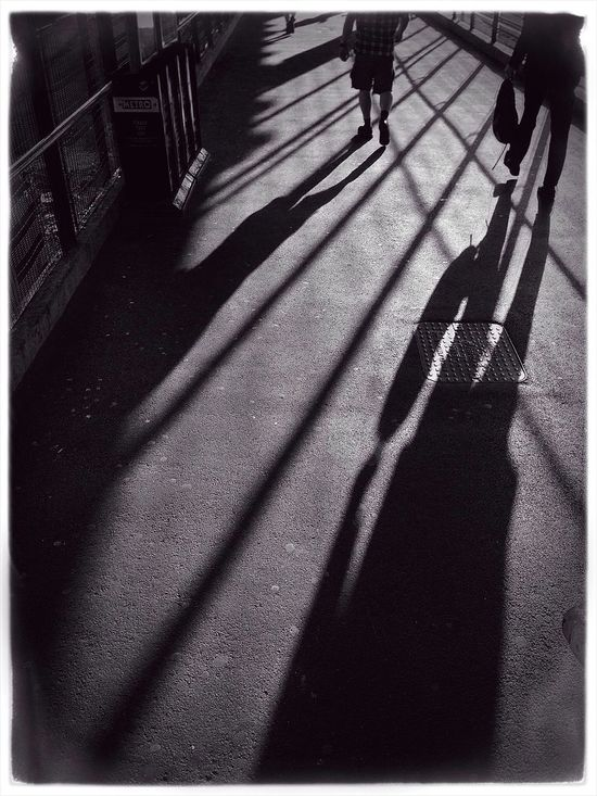long days, long shadows. Commuting Street Photography Black And White Streetphotography