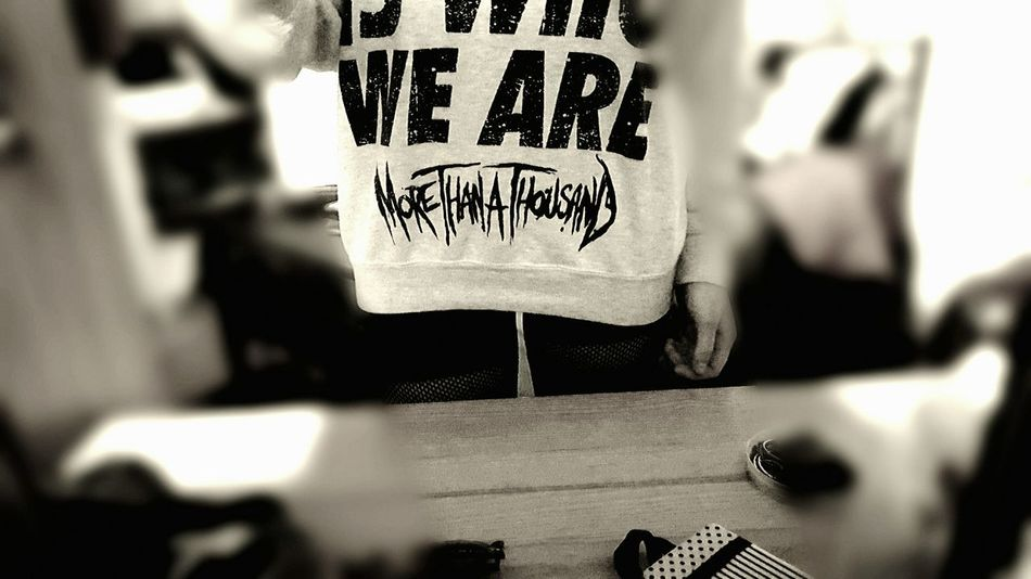 This Is Who We Are  Thisiswhoweare Mtat Morethanathousand More Than A Thousand Metal Metalhead Alternativegirl Alternativemood Alternativestyle Alternative Tshirt Bf Relationshipgoals \m/