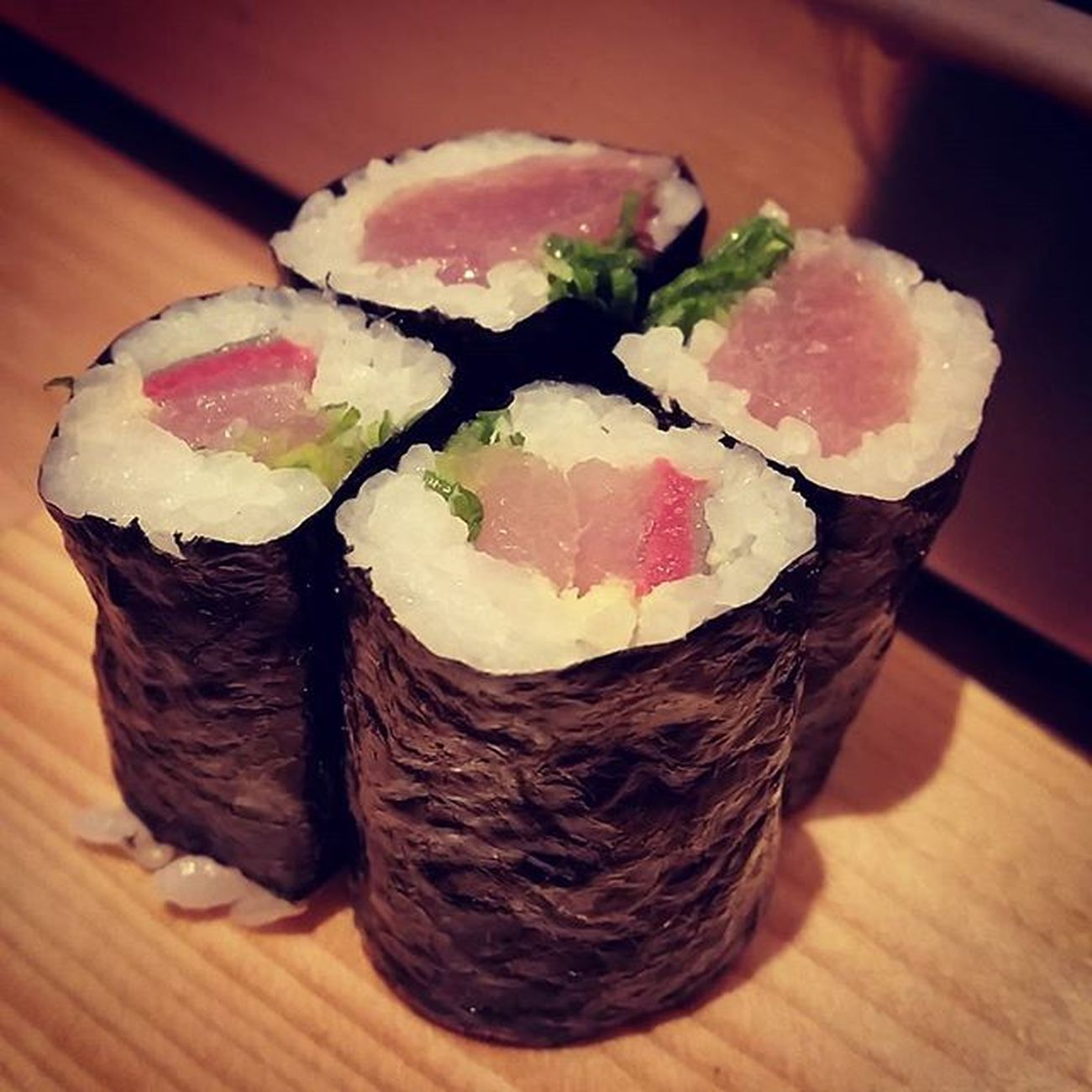 Yellowtail Roll with Green Onion. Not popular but My best.