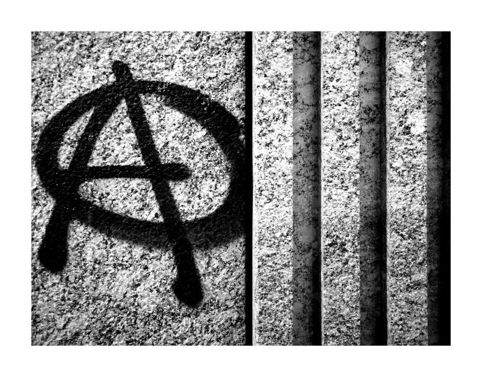 Resist Close-up Outdoors Just Taking Pictures Street Streetphotography Mobilephotography City Urban Photooftheday Blackandwhite Mobile Photography Welcome To Black Germany Monochrome Photography Nofilter Noedit Lines Urbanphotography Pattern Graffiti No People Anarchy Painting Typography A