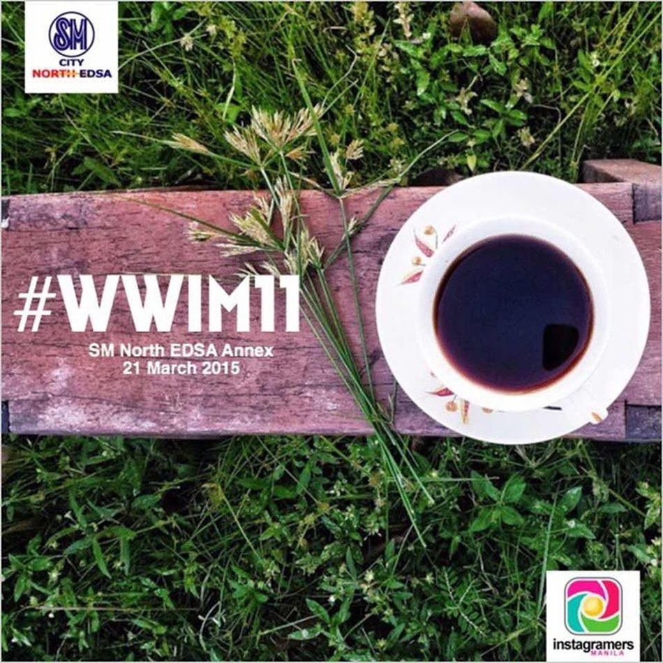 Fellow IGers, we're celebrating with Instagram'ing communities across the globe for the 11th Worldwide Instameet Wwim11 / 18th PhilippineInstameet ManilaInstameeton Saturday, 21-March-2015 12:30pm at @SMNorthEDSA Annex. Register at http://bit.ly/wwim11ph to join us as we mix delish and artsy into an afternoon of fun and interactivity. Keep the good vibes rolling! Ktgvr IGersManila IGersPhilippines @cclozano @edcalaycay @ipetim @pinkipop27 @igersphilippines @philgonzalez @igers