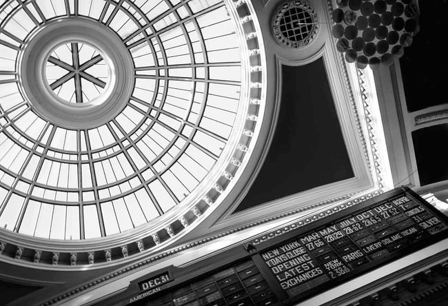 The Royal Exchange Theatre, Manchester. Manchester Architecture Black And White Time Stood Still Monochrome Shades Of Grey