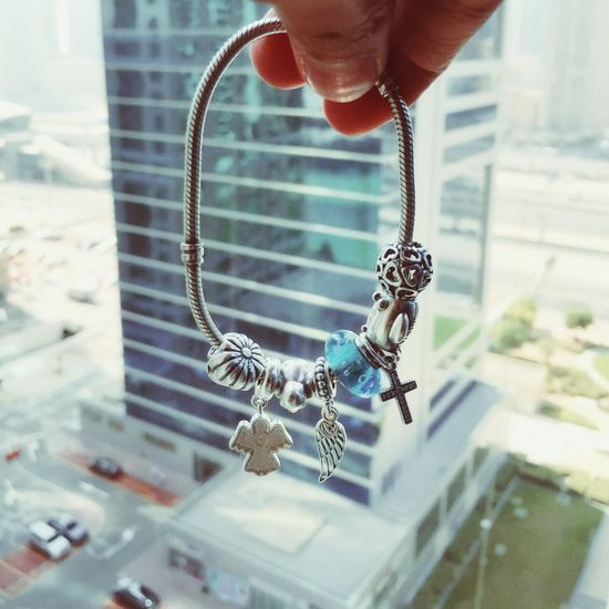 Sometimes it's okay not to be okay. ☔️🌈 Pandora Charms Bracelet Random Building Words It's Okay Cute Taking Photos
