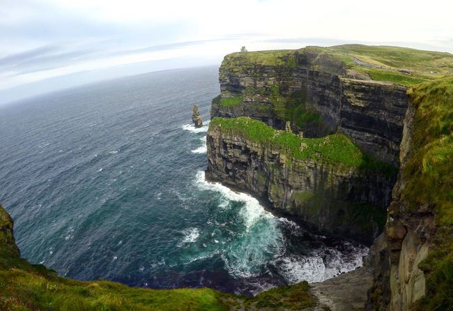 Sea Harrypotter Cliffs Of Moher  Ireland Cliff Hiking Explore Fresh On Eyeem