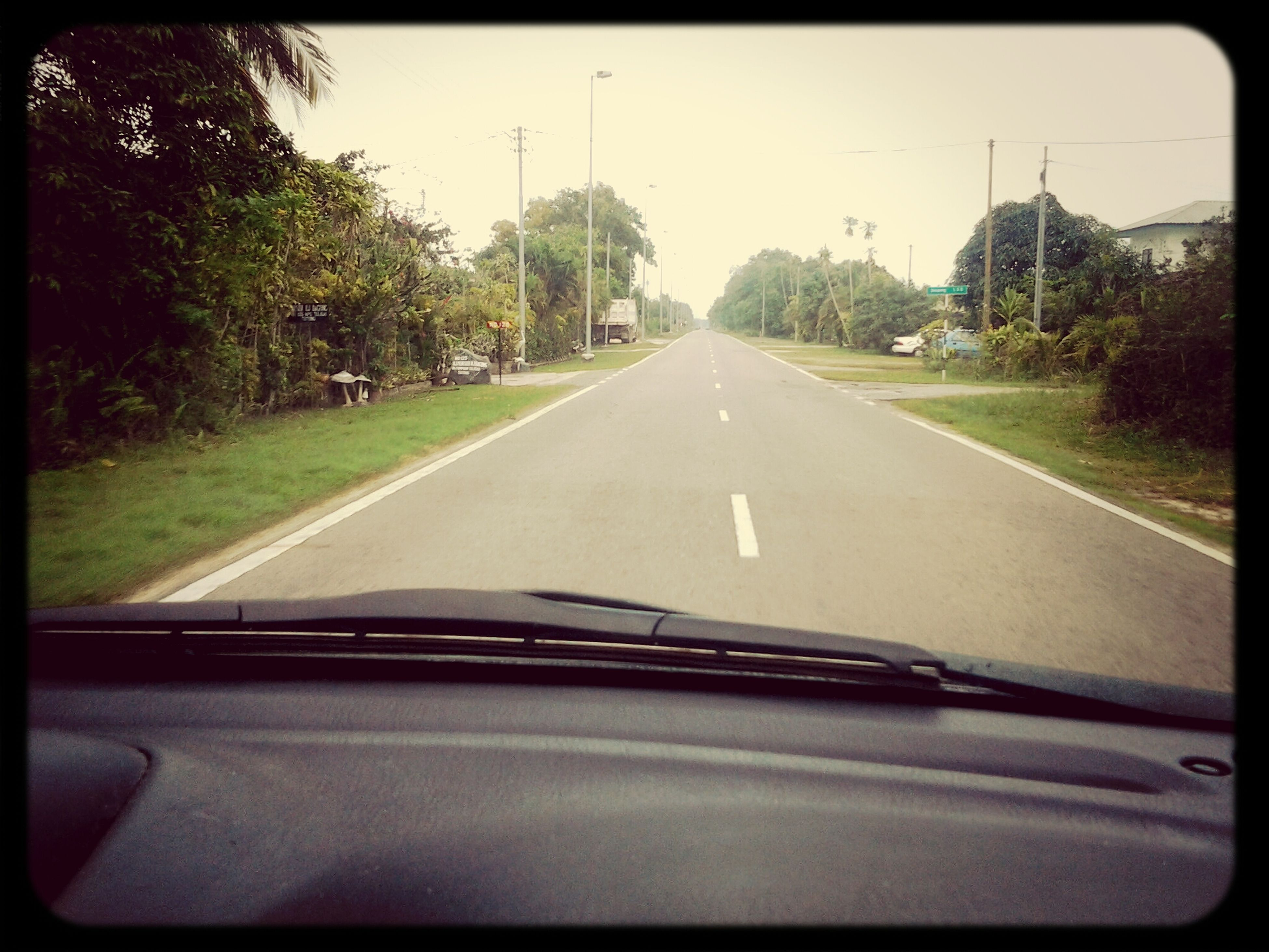 what a lonely road