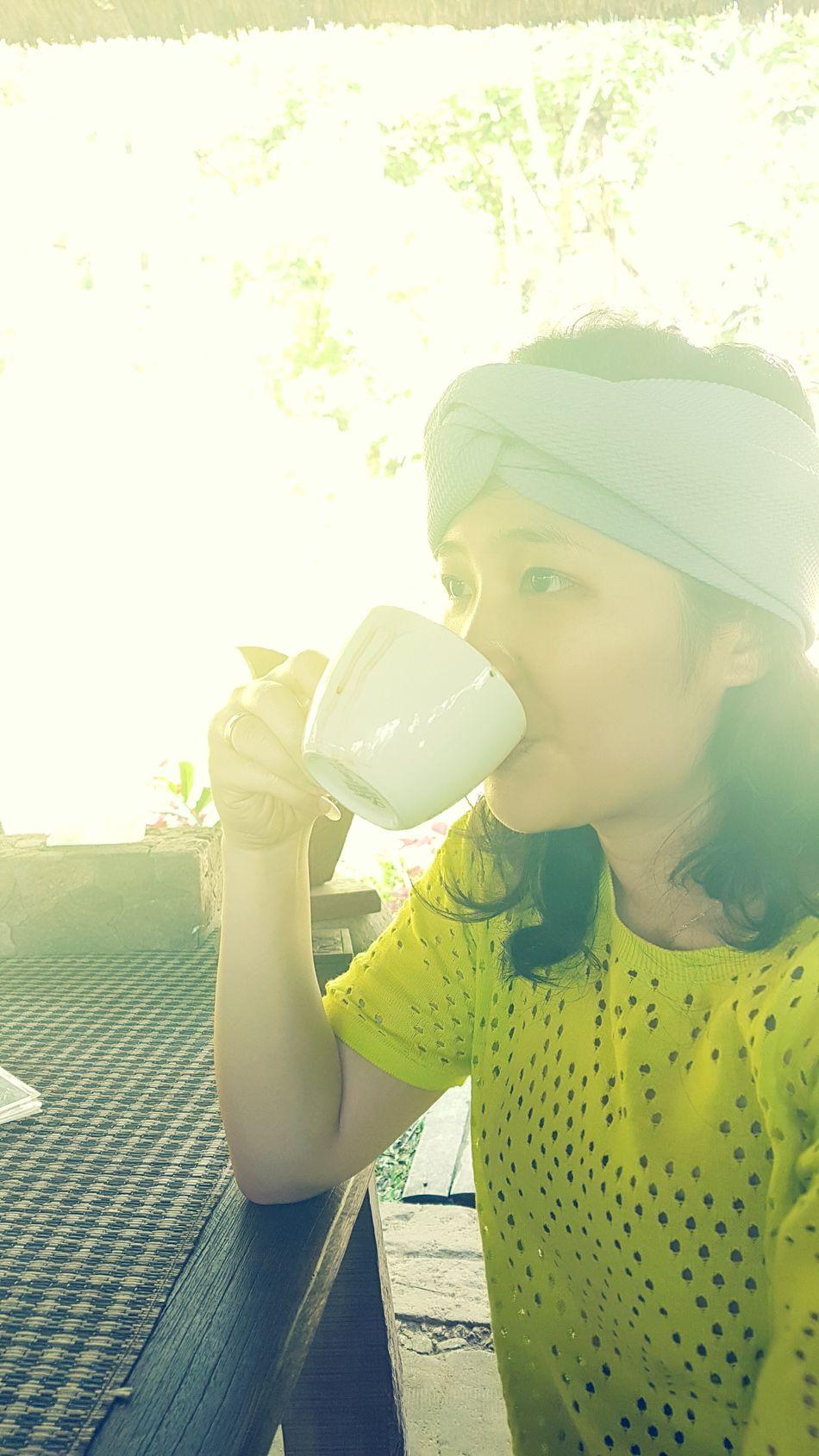 Enjoying my luwak coffee :) Luwakcoffee coffee