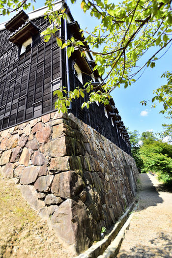 菊の世酒蔵 明治村 石垣 Sake Brewery Museum Meiji-mura Low Angle View Japan Japan Photography Nikon