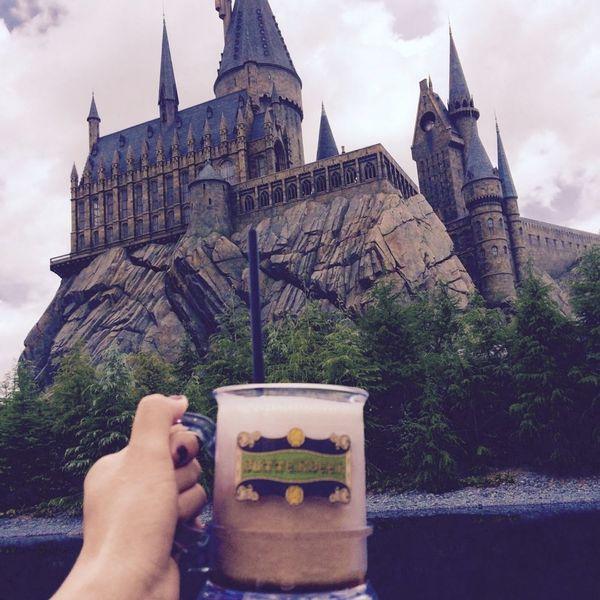 Japan OSAKA Universal Studios  Hogwarts Castle Butterbeer