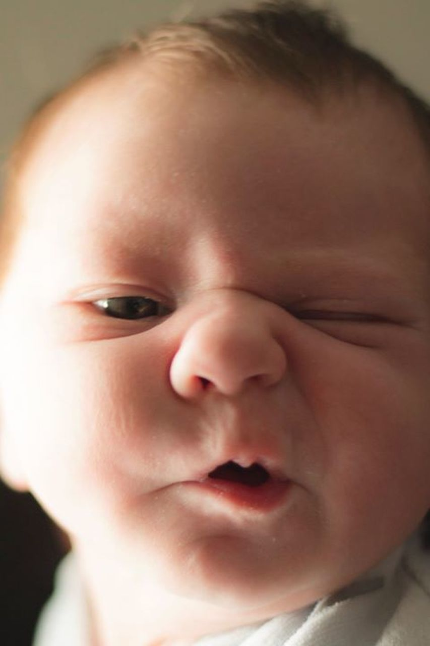 childhood, baby, one person, close-up, headshot, indoors, people, human body part, portrait, human face, day, babies only, child, fragility, adult