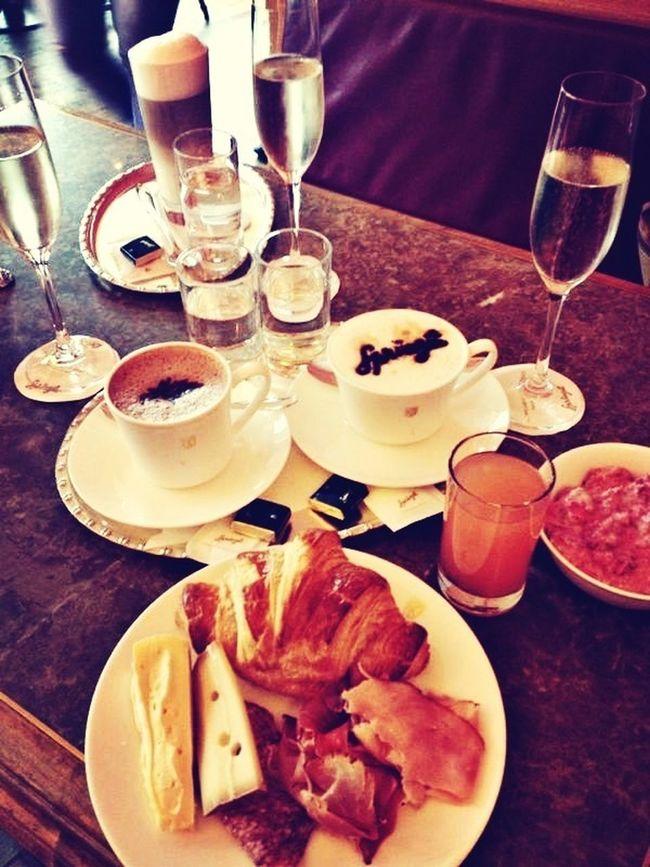 Breakfast Sprüngli Zürich