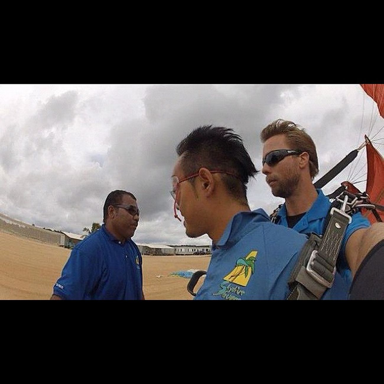 ただいま~♪ Sky Guam Gopro Skydive Webstagram Hafaadai グアム スカイダイビング ソラトビ