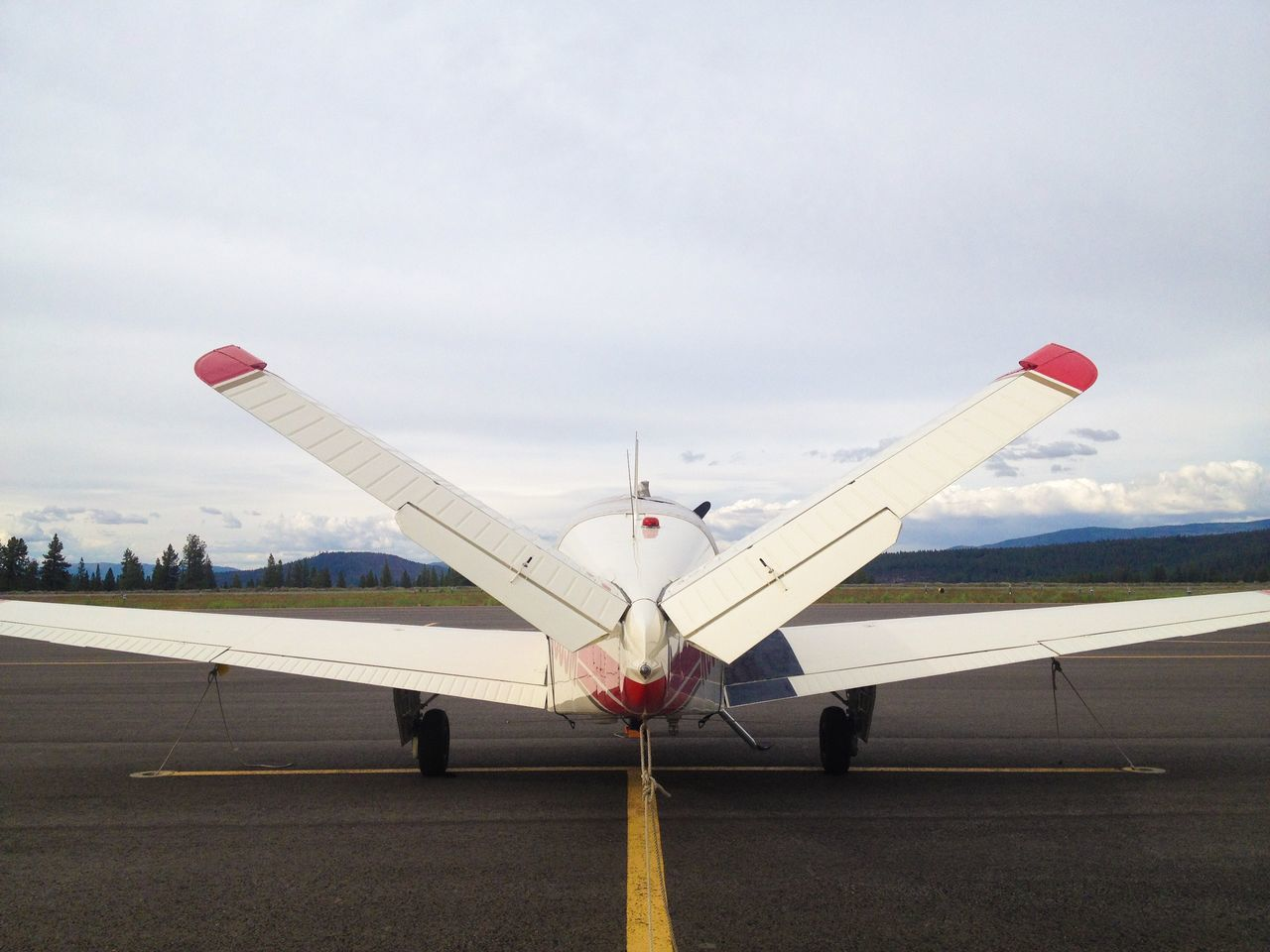 Beautiful stock photos of airplane, Air Vehicle, Aircraft Wing, Airplane, Airport Runway