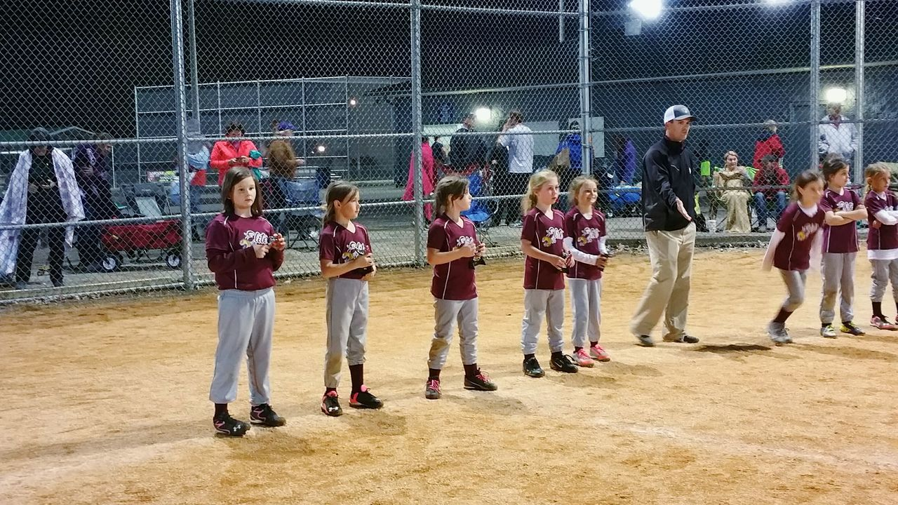 The Color Of Sport Leisure Activity TeamGirls Lifestyles Togetherness Playing Person Outdoors Practicing Awards Trophy Performance Athlete Organized Sports Teamwork Youth Of Today Sports Game Softball Portrait Night Tournament Hobby Enjoy The New Normal