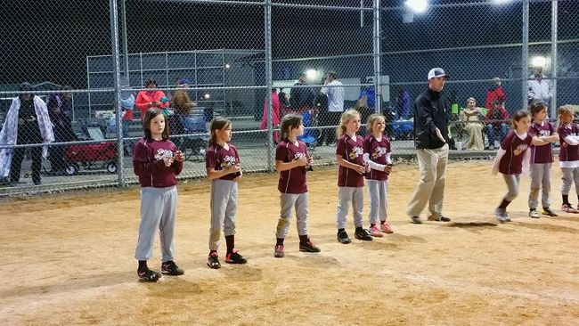 The Color Of Sport Leisure Activity TeamGirls Lifestyles Togetherness Playing Person Outdoors Practicing Awards Trophy Performance Athlete Organized Sports Teamwork Youth Of Today Sports Game Softball Portrait Night Tournament Hobby