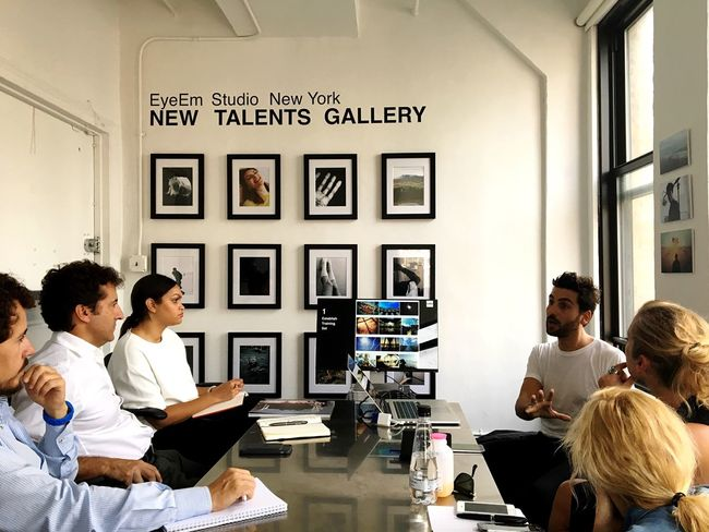 New Talents Gallery + @MC in action