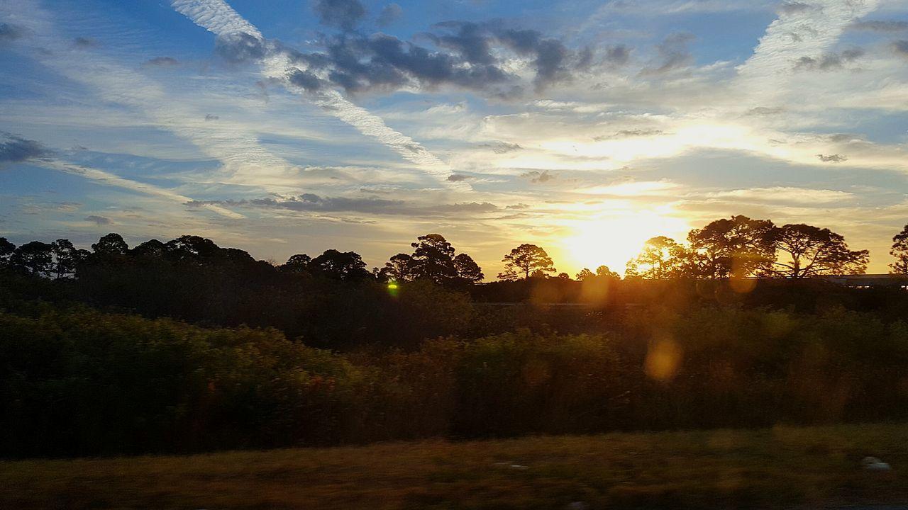 Home Sunset Beauty In Nature Cloud - Sky Florida Life Floridaclouds Florida Sunset Simple Elegance Simple Beauty Homesweethome Florida Beauty Simple Moments Beauty In Nature Simple Pleasures