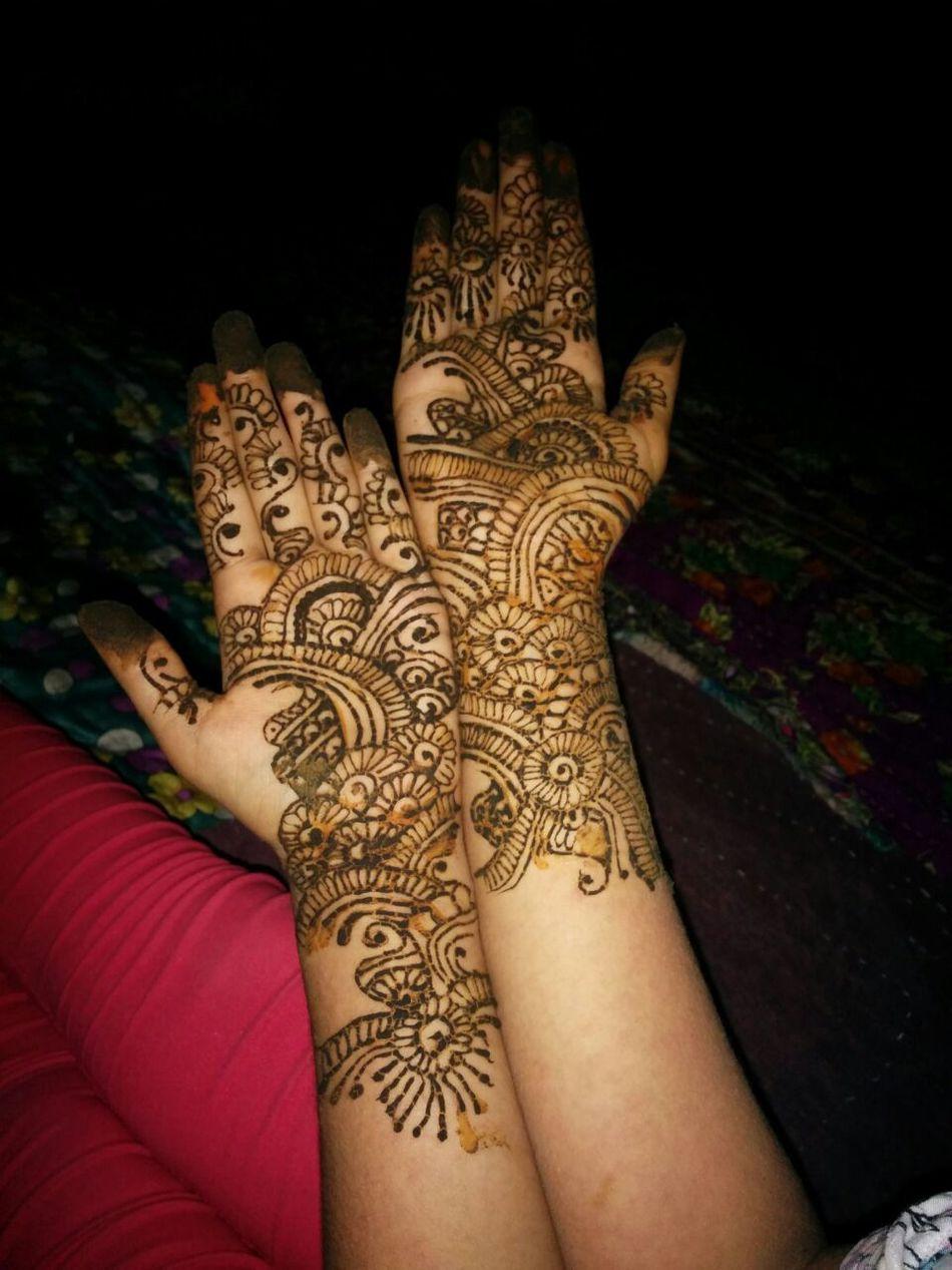 Henna Tattoo ❤ Henna Tattoo Design High Angle View Close-up Human Body Part Human Hand Art Art And Craft Creativity Design Parasngupta_photography