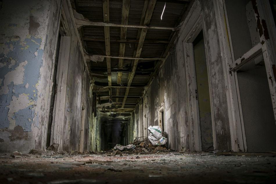 Abondoned Buildings Abondoned Indoors  No People Latvia Baldone Sanatorium
