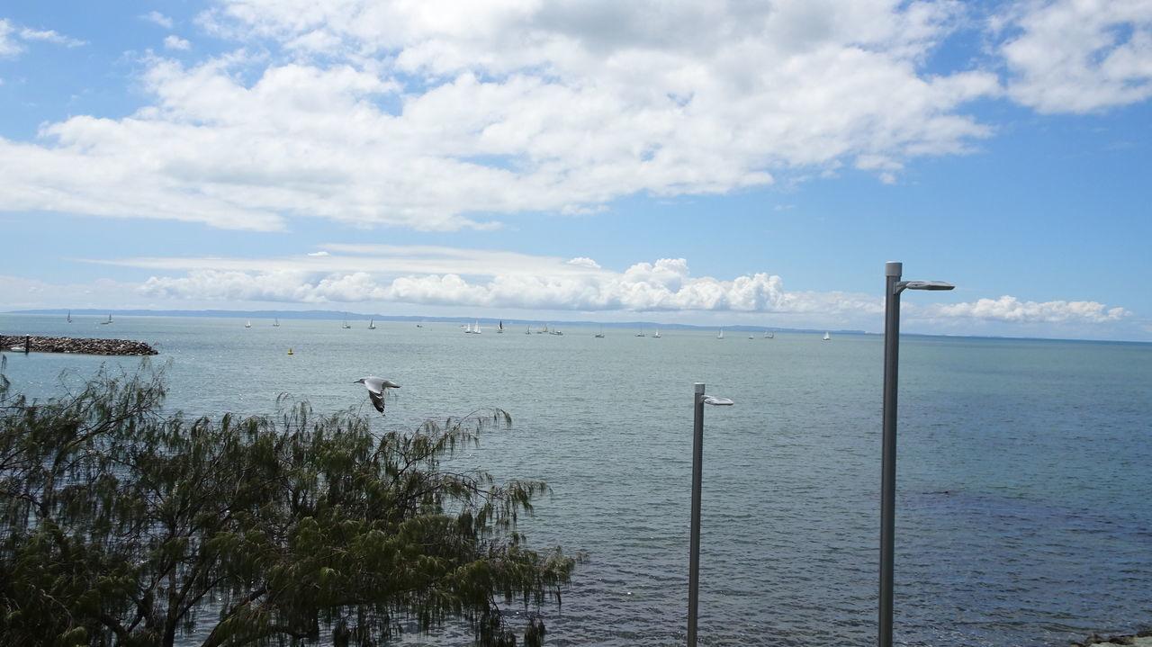 Cloud - Sky Mortan Ba Mortan Bay No People Outdoors Queensland Sailing Boat Sunday Morning