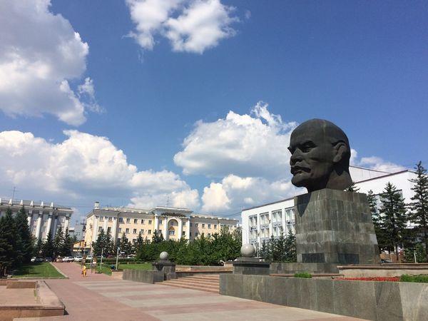 Lenin Ulan-Ude Siberia
