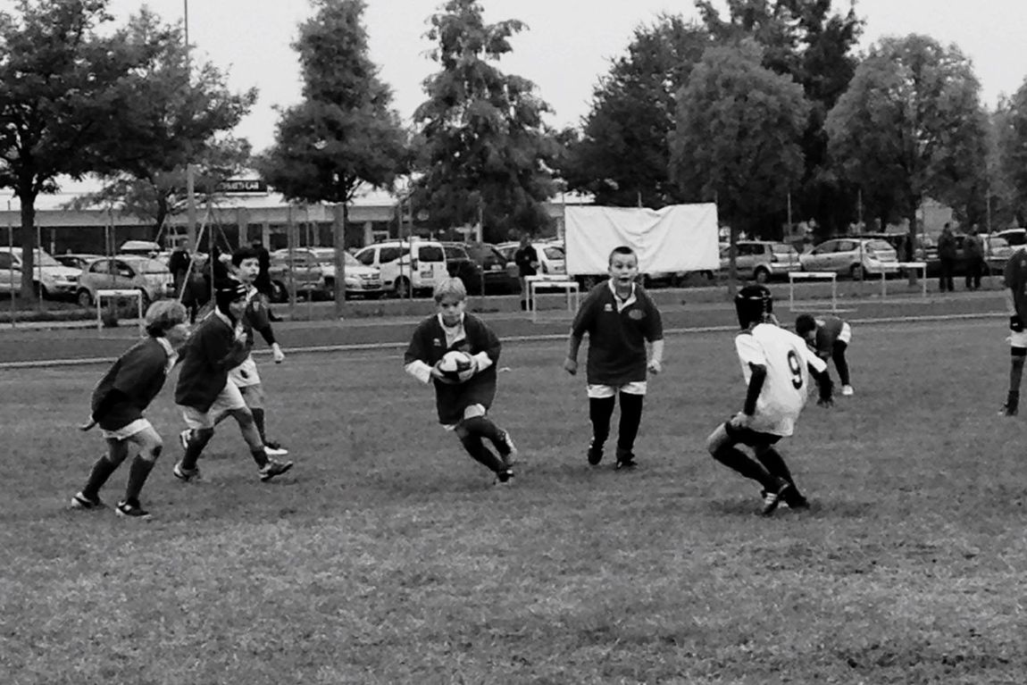 Carpi Group Of People Childhood People American Football - Sport Day Lifestyle Field Sport Rugby Like Follow4follow Followme Nature Blackandwhite Photography Blackandwhite Black