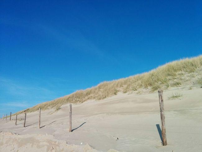 Texelpics Texelstrand Blue Sky Beach